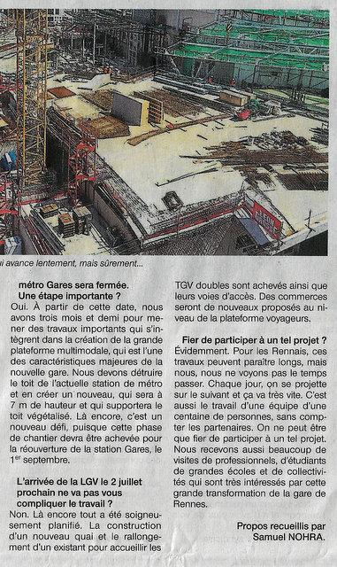 Gare de Rennes : un chantier exceptionnel Scan-114
