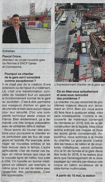 Gare de Rennes : un chantier exceptionnel Scan39