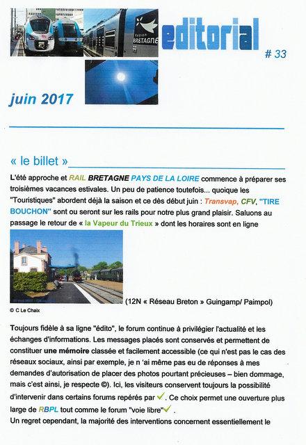 EDITO # 33 /JUIN 2017 Scan67