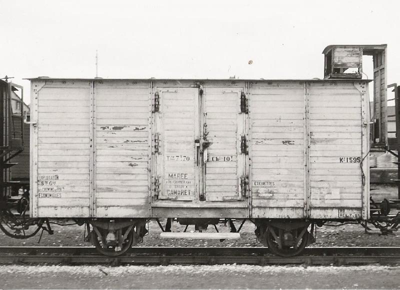 Réseau Breton - il y a 50 ans la fin de la ligne Camaret - Chateaulin Emb Wag-0010