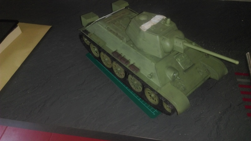T 34 76 1/16 Trumpeter - Page 2 Imag0110