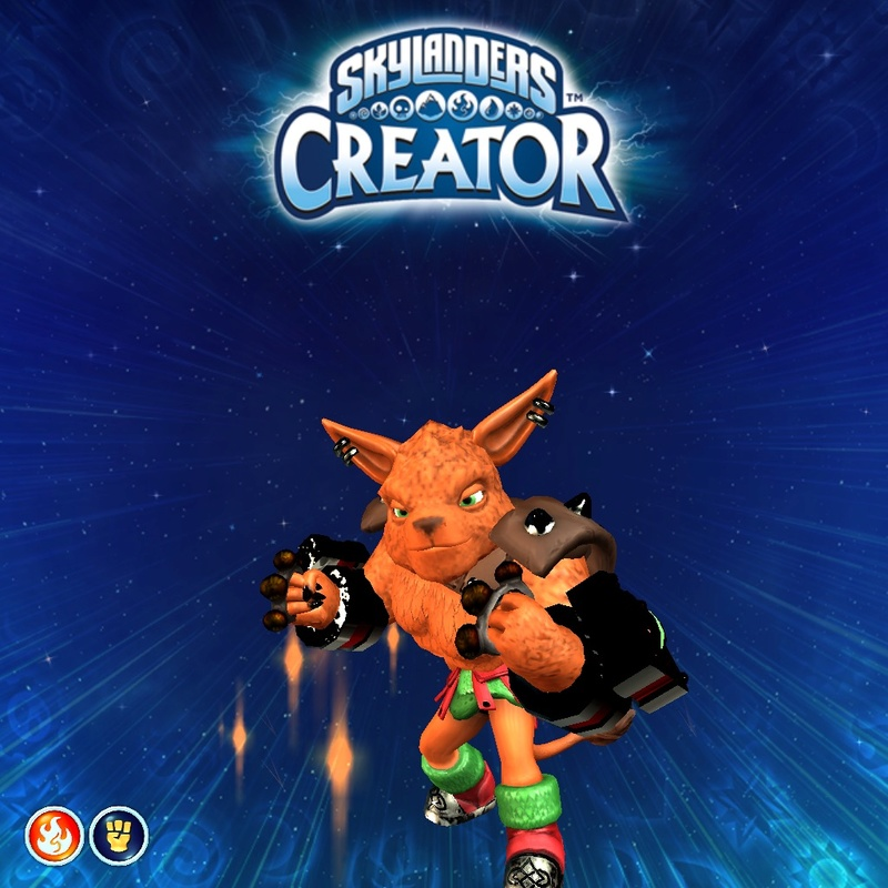 Special Guest Star: My Latest Imaginator Concept for Skylanders Imaginators Image11