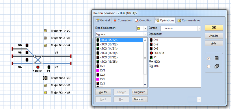 Câblage d'un croisement et compatibilité.  X_tc10