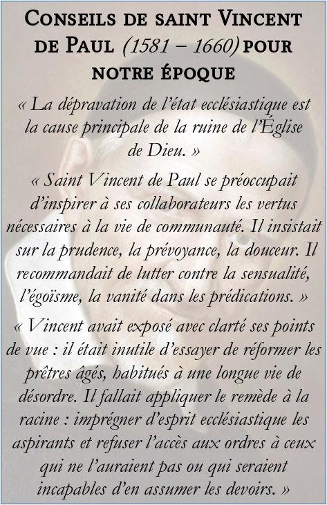 Conseils de saint Vincent de Paul pour notre époque Consei10