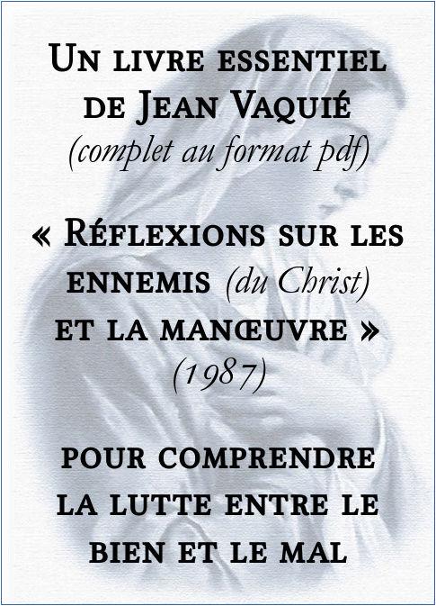 Un livre essentiel de Jean Vaquié sur les ennemis du Christ Un_liv10