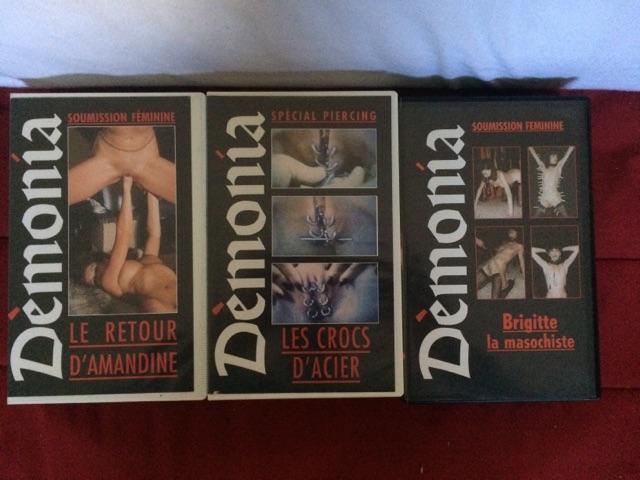 VENDS LOT 14 VHS X RARE - DÉMONIA Cid_2811