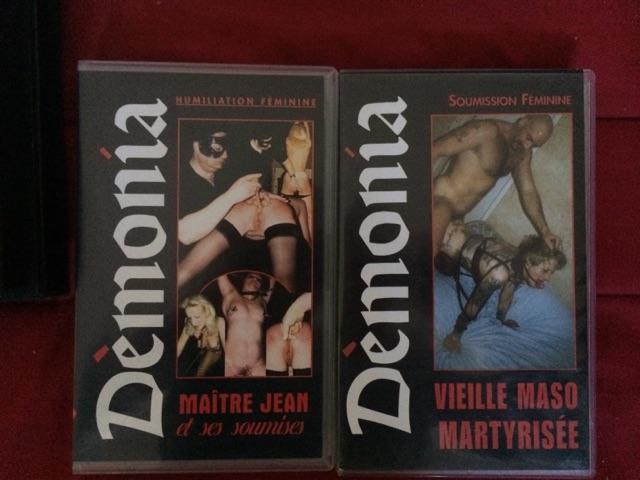 VENDS LOT 14 VHS X RARE - DÉMONIA Cid_2812