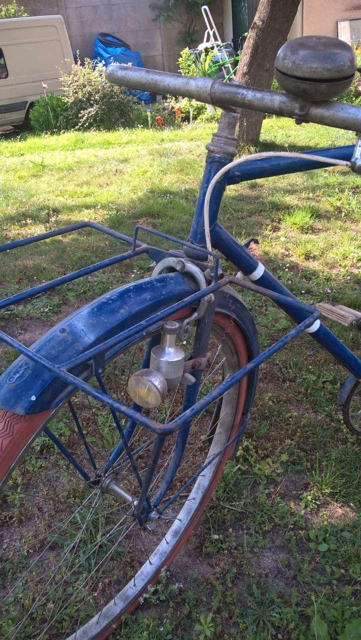 Vélo du facteur années 1930/1935 Porteu15