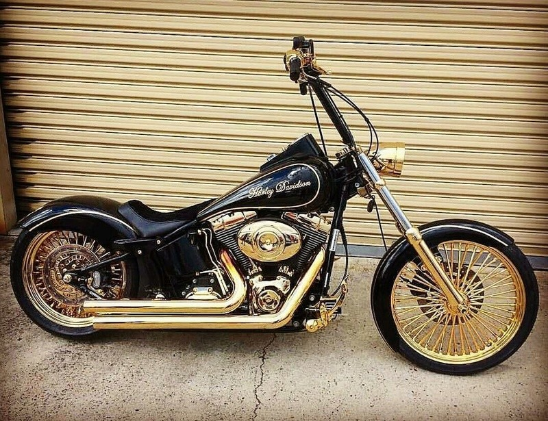 Softail custom Tumbl415