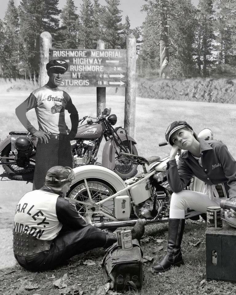 Vieilles photos (pour ceux qui aiment les anciennes photos de bikers ou autre......) - Page 12 Tumbl990