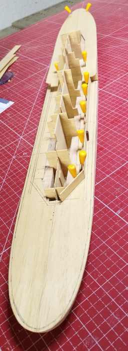 Schulschiff Deutschland, jetzt 1:100 Aufbau11