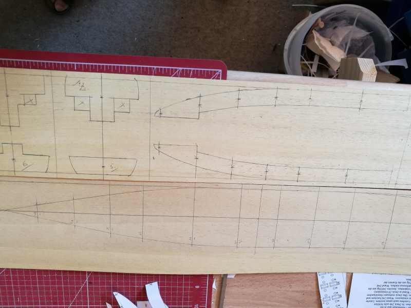Schulschiff Deutschland, jetzt 1:100 Holz_110