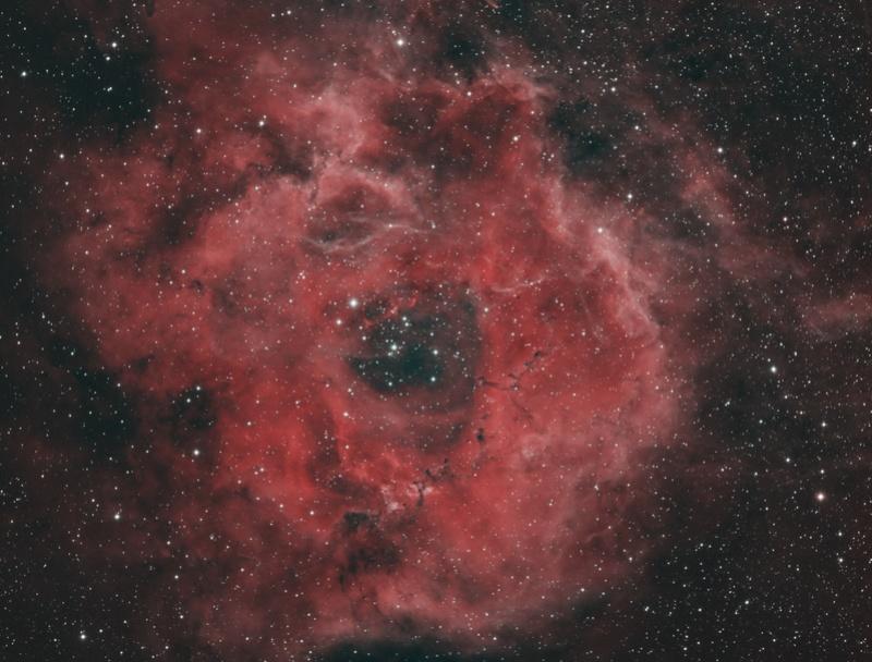 NGC2237 La rosette à la FSQ106 depuis Sirène Hoo-al10