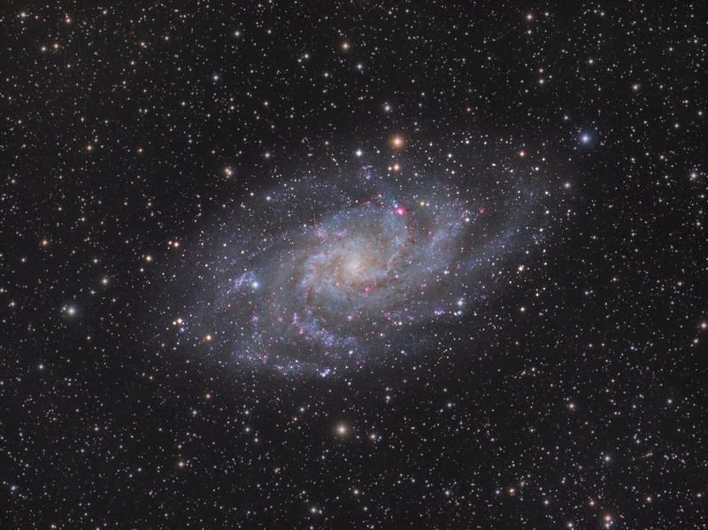 M33 à la FSQ 106 en remote depuis Sirene M-33-l10