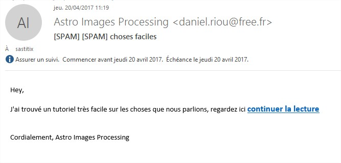 SPAM / Hack ?  Ouvrir10