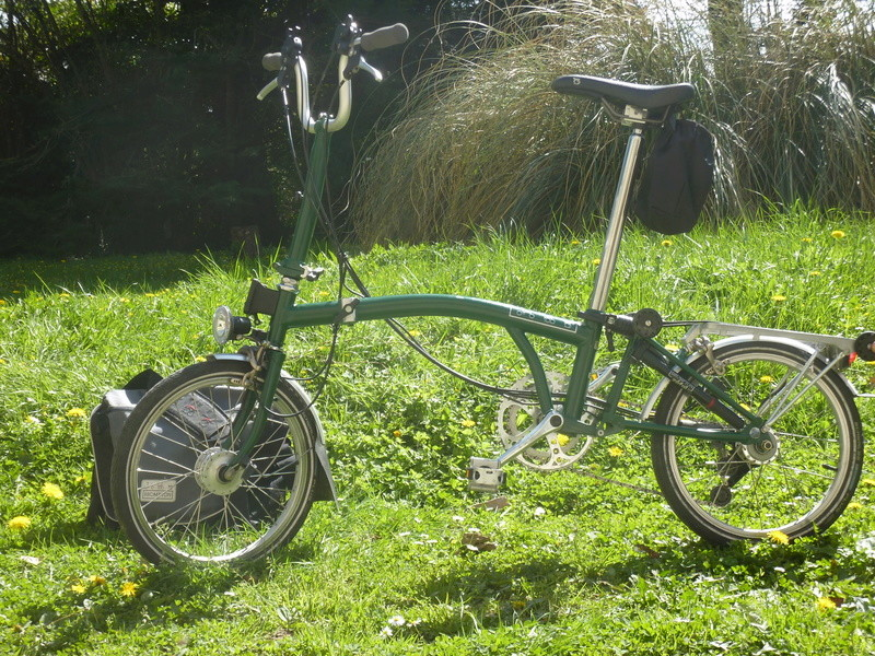 [VENDU] Brompton M6R vert anglais 900€ P1070510