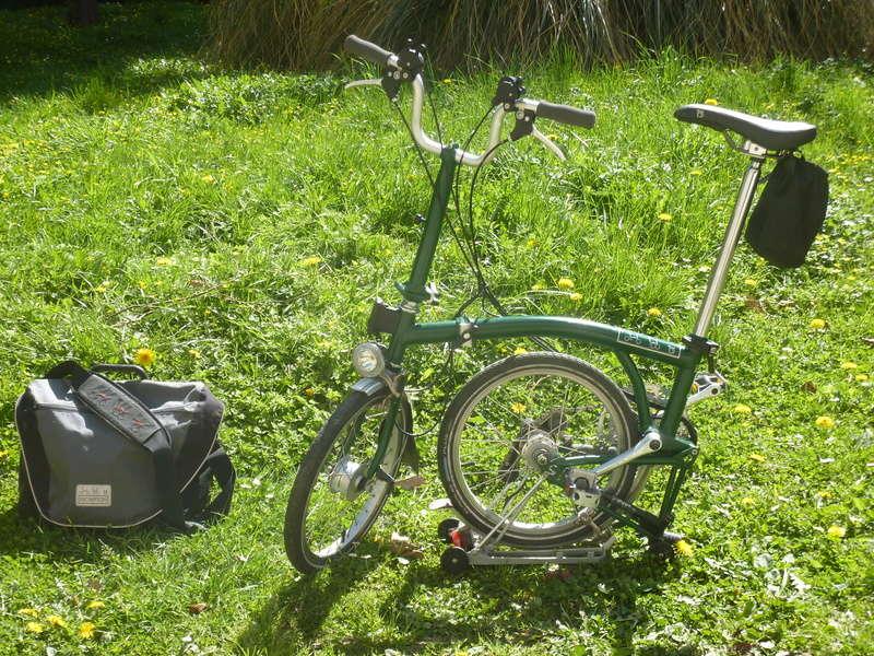 [VENDU] Brompton M6R vert anglais 900€ P1070511