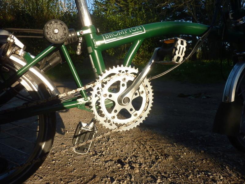 [VENDU] Brompton M6R vert anglais 900€ P1070513