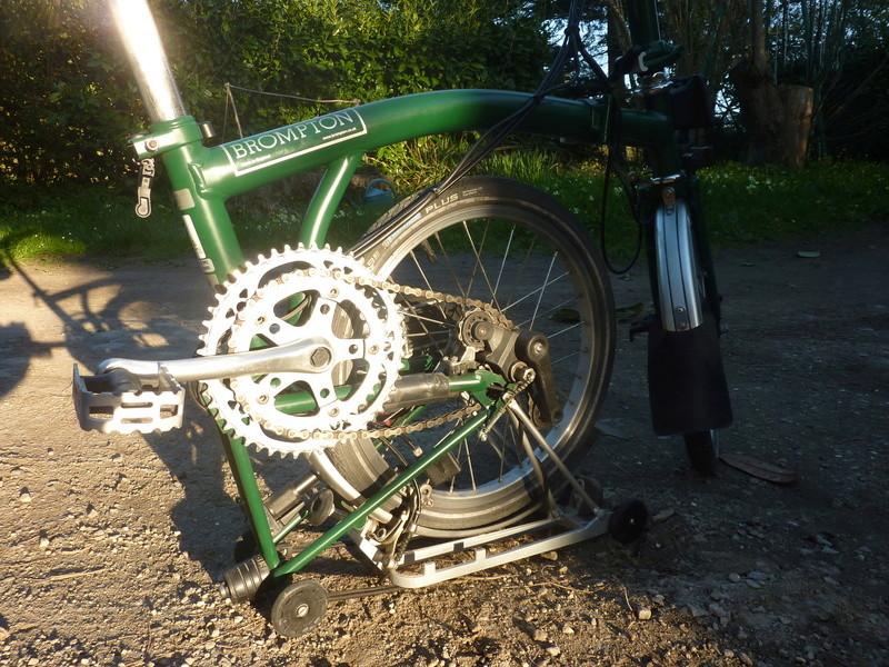 [VENDU] Brompton M6R vert anglais 900€ P1070515