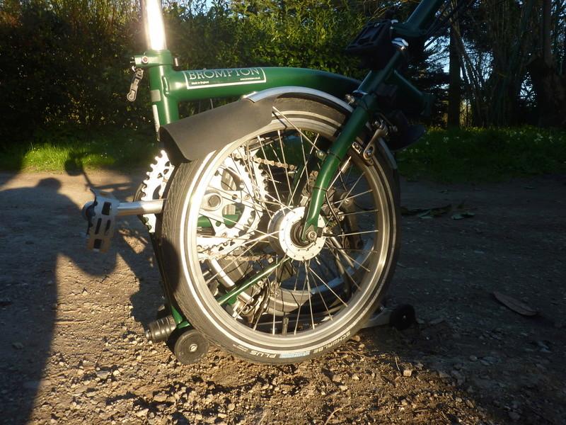 [VENDU] Brompton M6R vert anglais 900€ P1070517