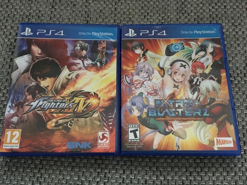 (VENDU) Playstation PS4 1TB - LOT jeux fight PS4 Unadju10