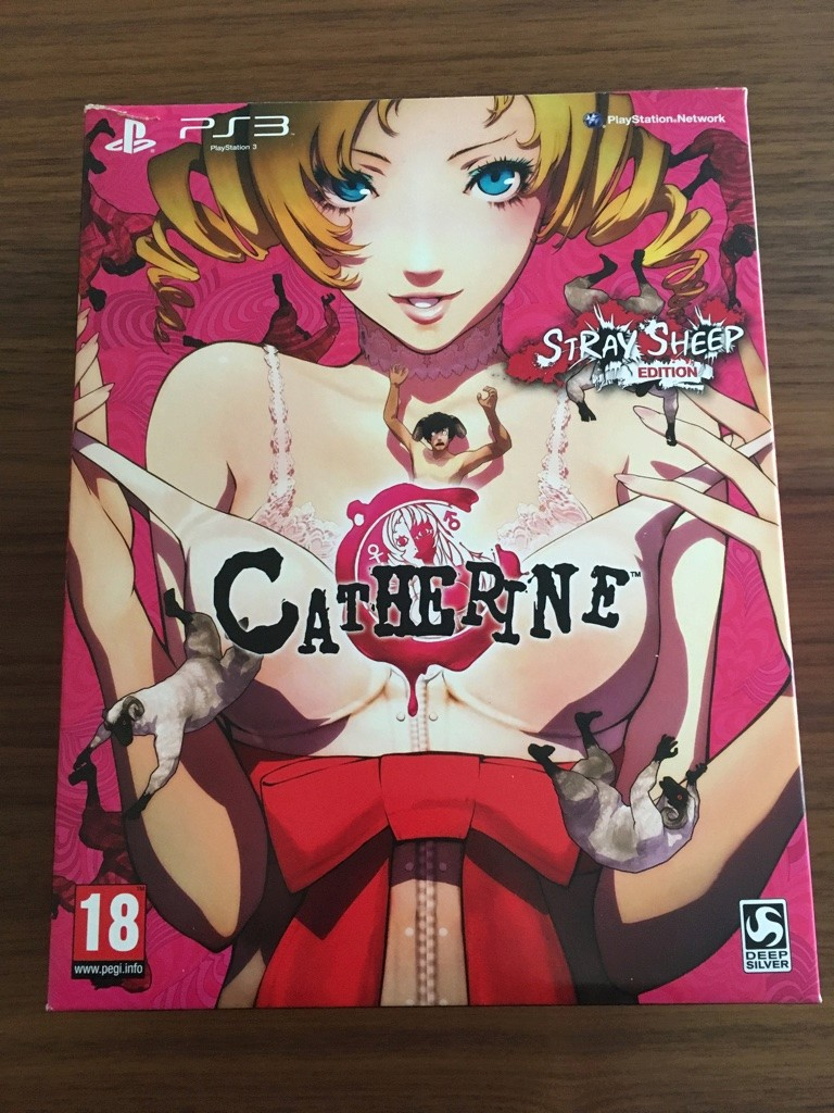 (VENDU) CATHERINE playstation 3 euro COLLECTOR Unadju15