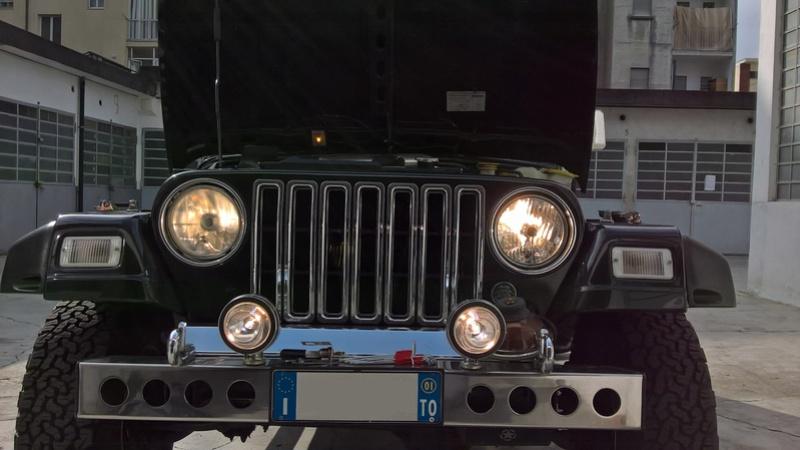 vecchia jeep , nuovi fari Wp_20112