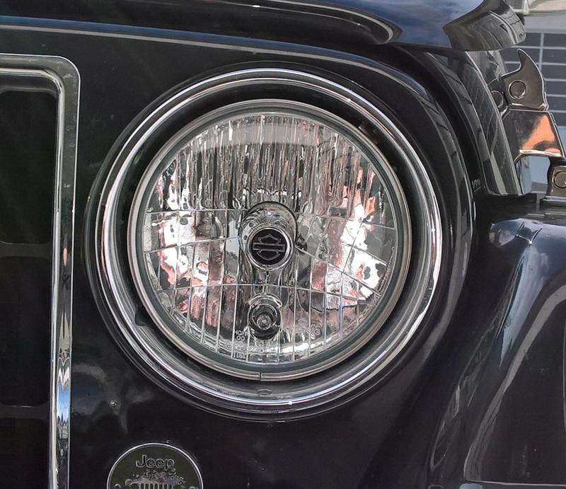 vecchia jeep , nuovi fari Wp_20114