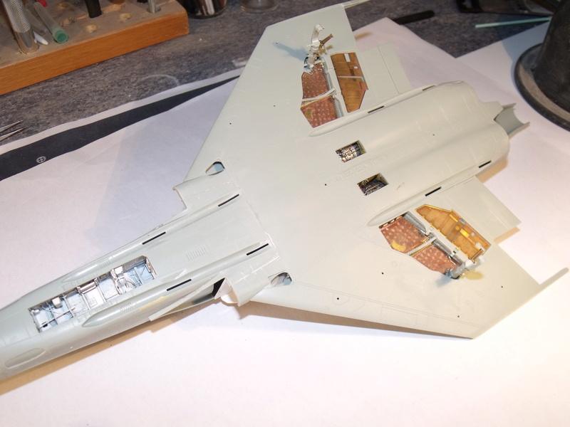 F-4 B Phantom 1/48° - VF-51 - 1972 - Début de patine. - Page 3 Dscf7010
