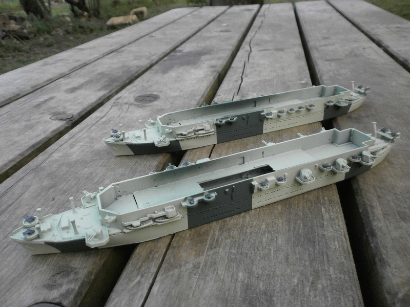 IJN Aircraft Carriers 1/700 : CHUYO & UNYO  1611