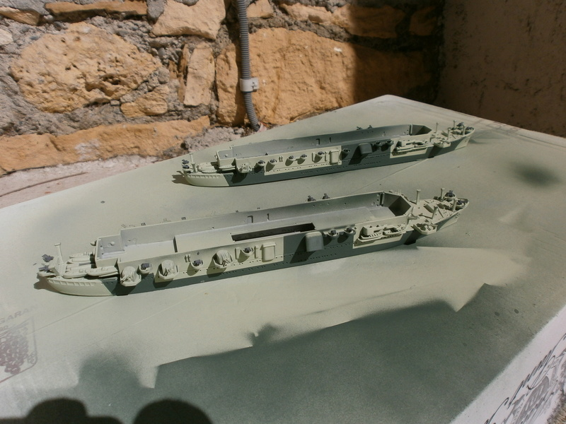 IJN Aircraft Carriers 1/700 : CHUYO & UNYO  1811