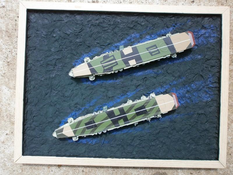 IJN Aircraft Carriers 1/700 : CHUYO & UNYO  3410