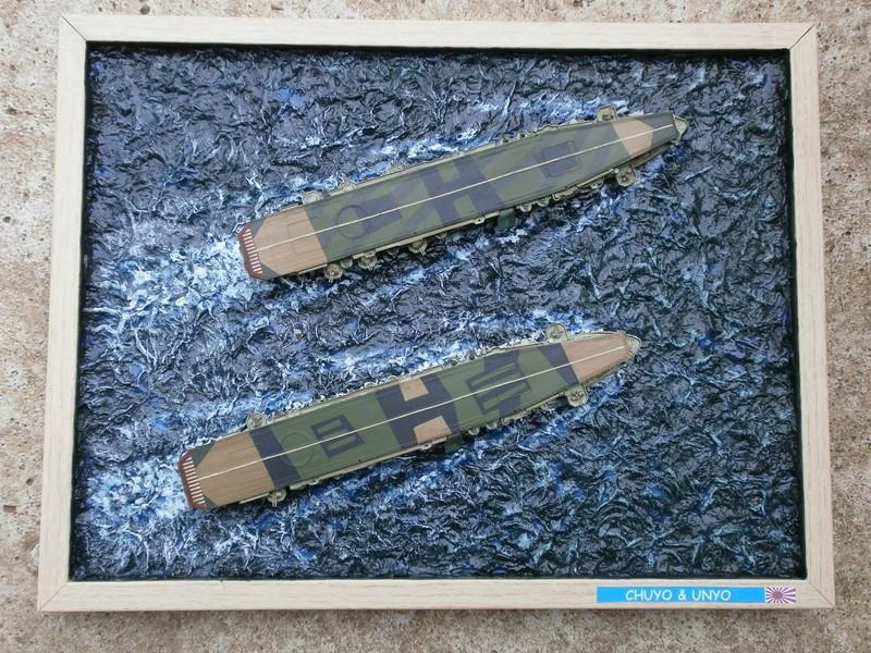 IJN Aircraft Carriers 1/700 : CHUYO & UNYO  4211