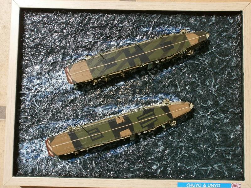 IJN Aircraft Carriers 1/700 : CHUYO & UNYO  4513