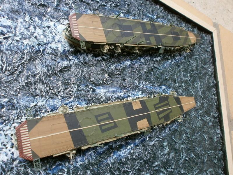 IJN Aircraft Carriers 1/700 : CHUYO & UNYO  4613