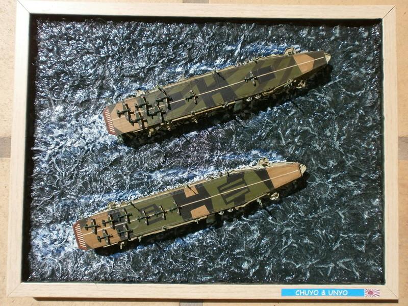 IJN Aircraft Carriers 1/700 : CHUYO & UNYO  4713