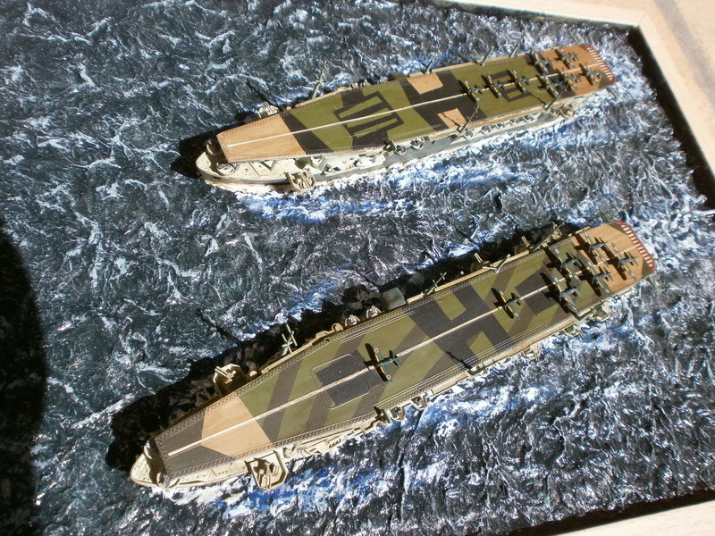 IJN Aircraft Carriers 1/700 : CHUYO & UNYO  4813