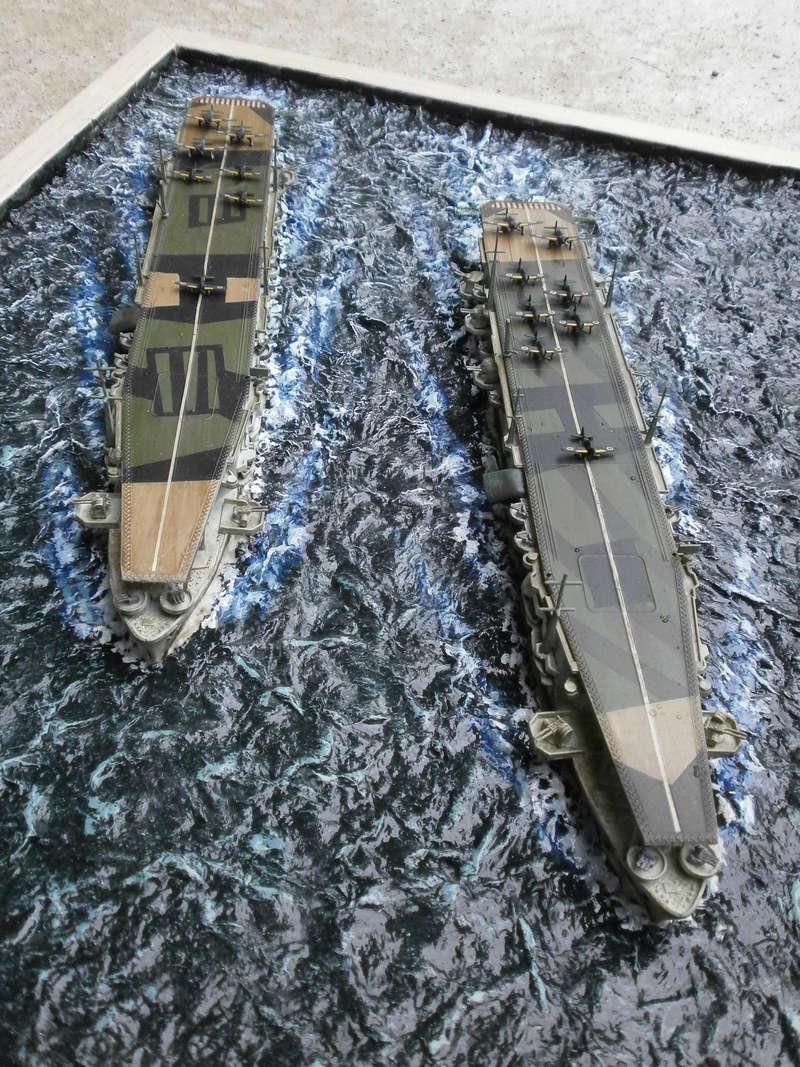 IJN Aircraft Carriers 1/700 : CHUYO & UNYO  4911