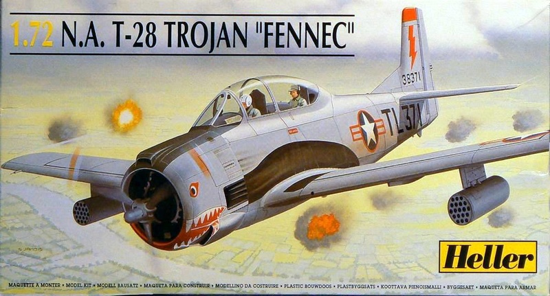 North American (Sud Aviation) T 28 Fennec Na_t2810