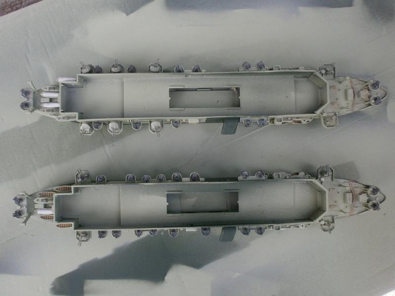 IJN Aircraft Carriers 1/700 : CHUYO & UNYO  P4160010