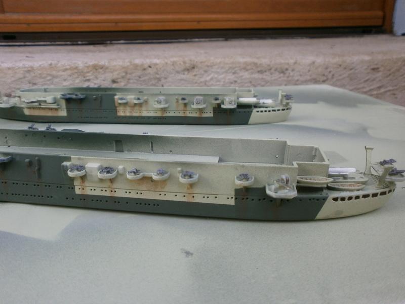 IJN Aircraft Carriers 1/700 : CHUYO & UNYO  P4160011