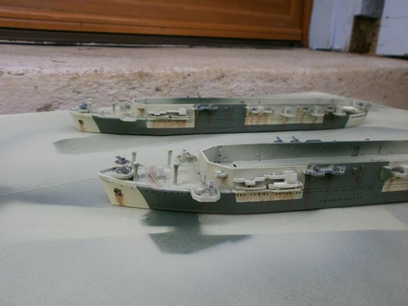 IJN Aircraft Carriers 1/700 : CHUYO & UNYO  P4160013