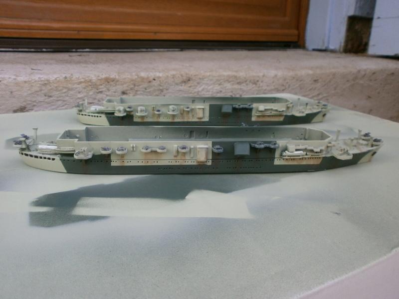 IJN Aircraft Carriers 1/700 : CHUYO & UNYO  P4160014