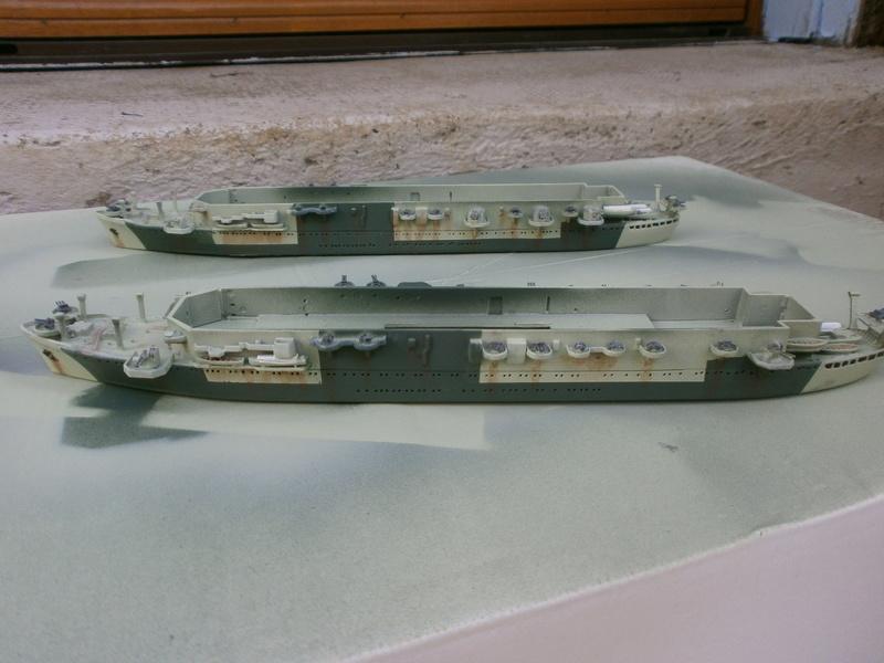 IJN Aircraft Carriers 1/700 : CHUYO & UNYO  P4160015