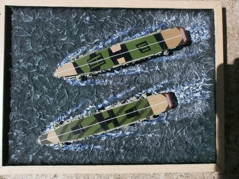 IJN Aircraft Carriers 1/700 : CHUYO & UNYO  P4280013
