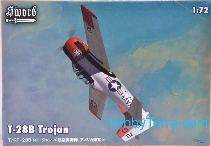 North American (Sud Aviation) T 28 Fennec Sword711