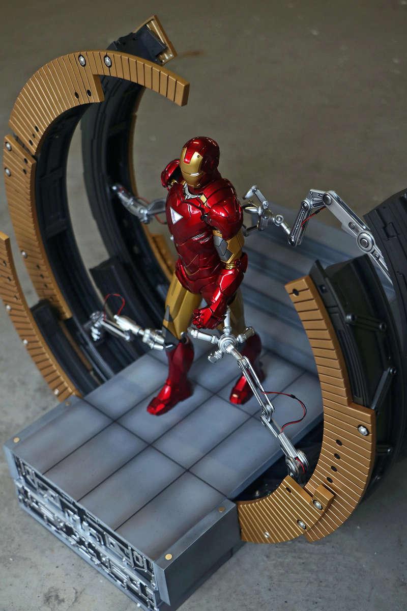 Iron Man 2 - Moving Gantry for Mark 6 - 1/9 Diecast (King Arts) 00184010