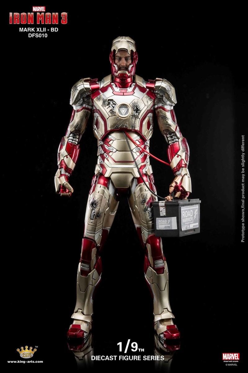 Iron Man 3 - Mark 42 - 1/9 Diecast (King Arts) 06323710