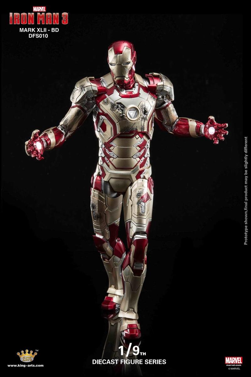 Iron Man 3 - Mark 42 - 1/9 Diecast (King Arts) 06323711