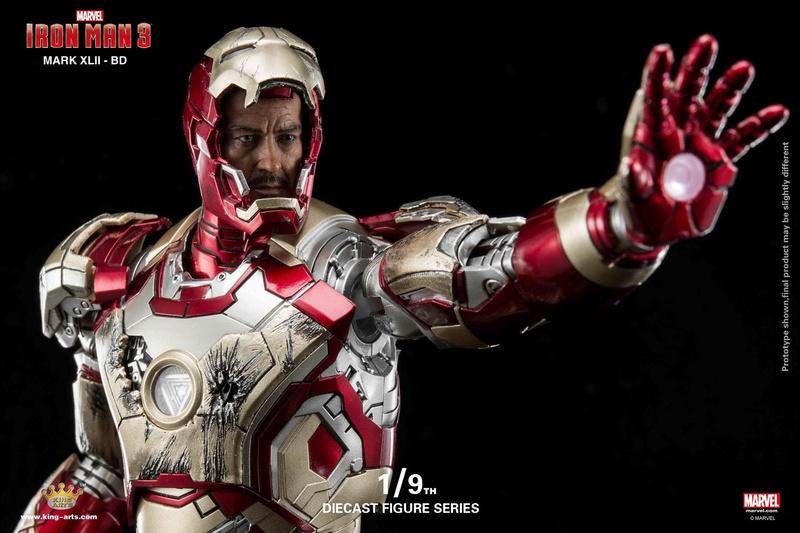 Iron Man 3 - Mark 42 - 1/9 Diecast (King Arts) 06323810